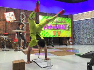 逆立ち超人しゃちほこ×AbemaTVテンション MAX↑