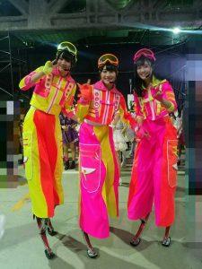 NGT48加藤美南さん、HKT48本村碧唯さん、Team8中野郁海さん